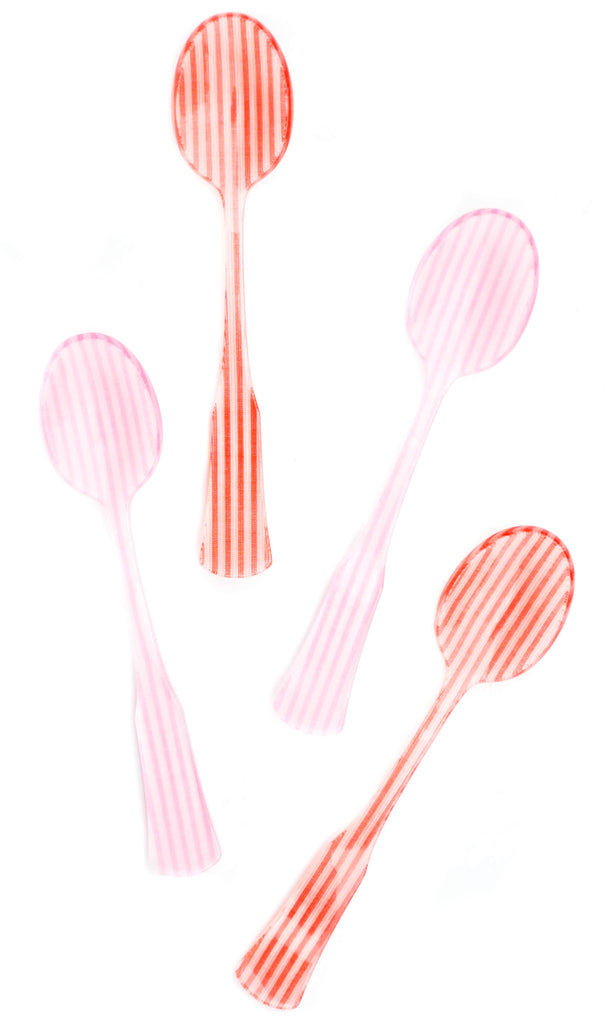 Candy Stripe Teaspoon Set - LEIF