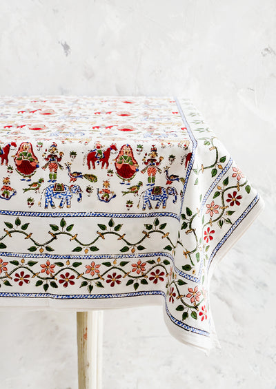 Carnival Print Tablecloth hover