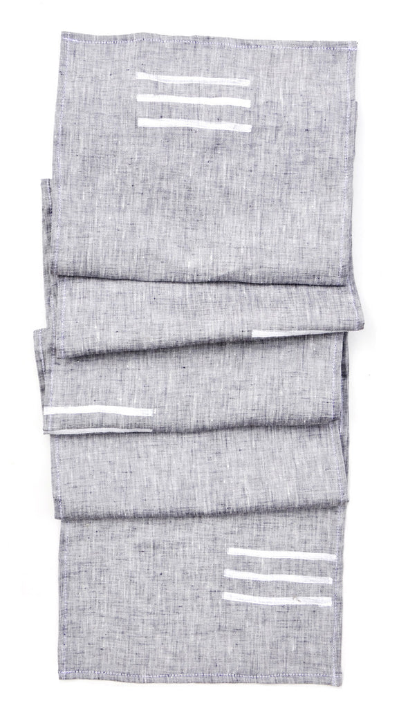 Stacked Lines Table Runner - LEIF