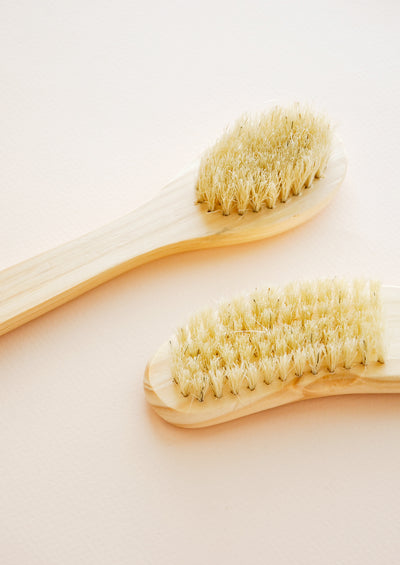 Cedarwood Face + Nail Brushes hover