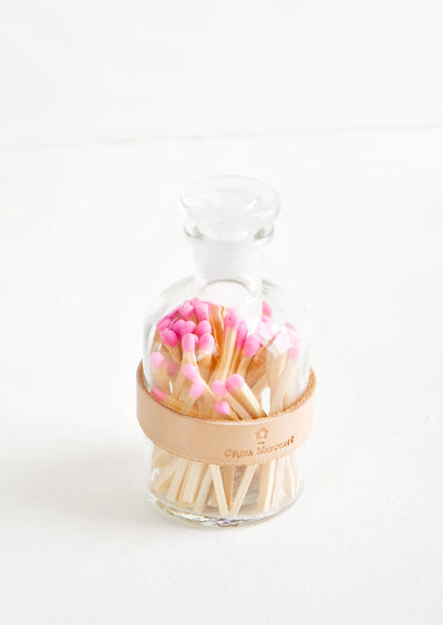 Leather Wrapped Match Jar hover