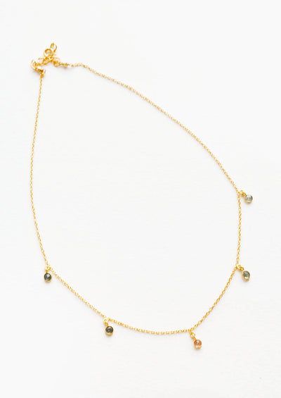 Celine Gem Stations Necklace