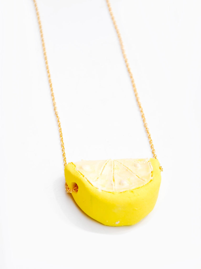 Ceramic Citrus Necklace - LEIF