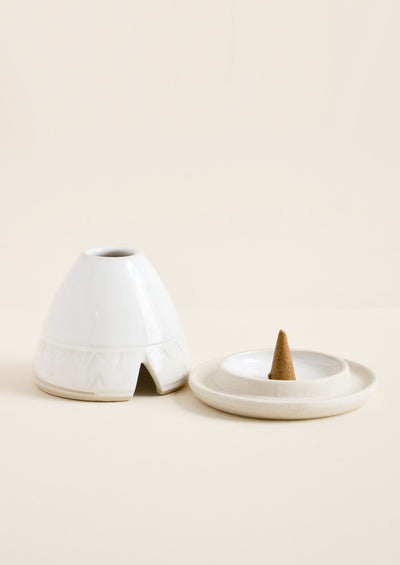 Ceramic Incense Hut hover