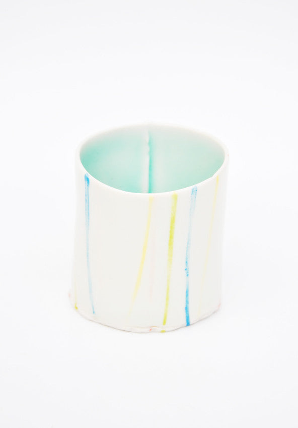 Chalk Stripe Cup - LEIF