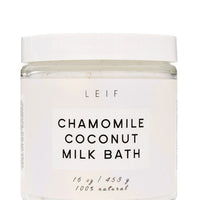 2: Chamomile Coconut Milk Bath in  - LEIF