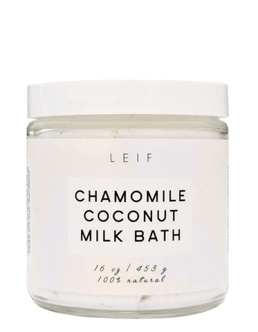 Chamomile Coconut Milk Bath - LEIF