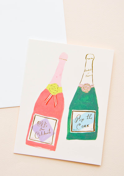 Pop the Champagne Card