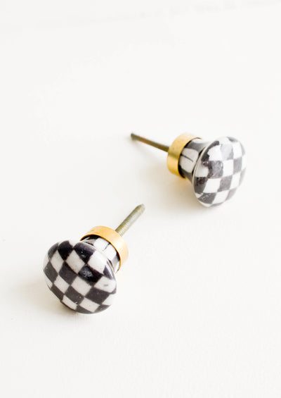 Checkered Ceramic Knob hover