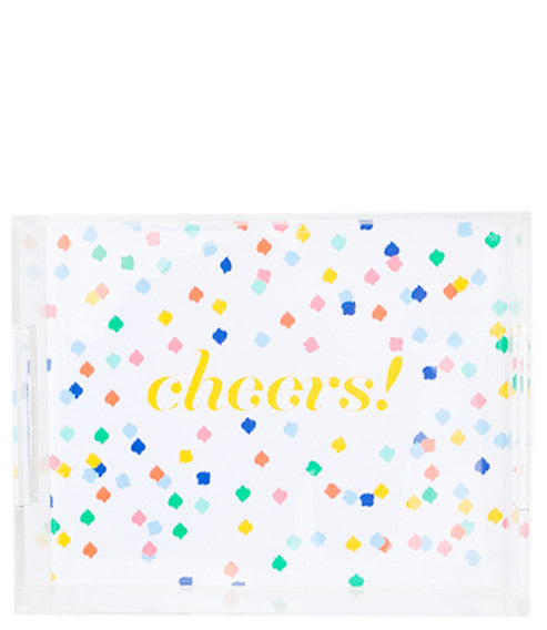 Cheers! Lucite Tray - LEIF
