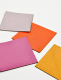 Chroma Leather Coaster Set - LEIF