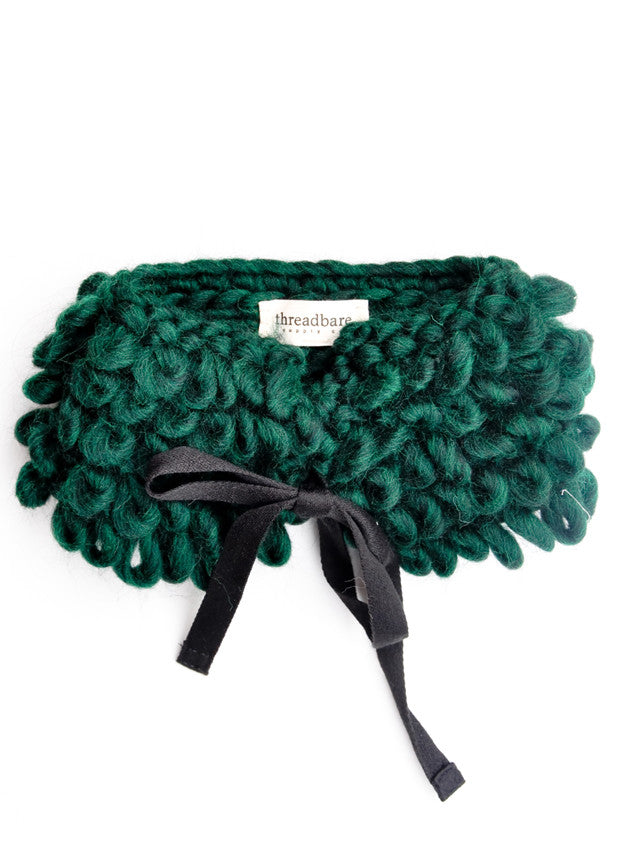 Brushed Wool Neck Warmer - LEIF