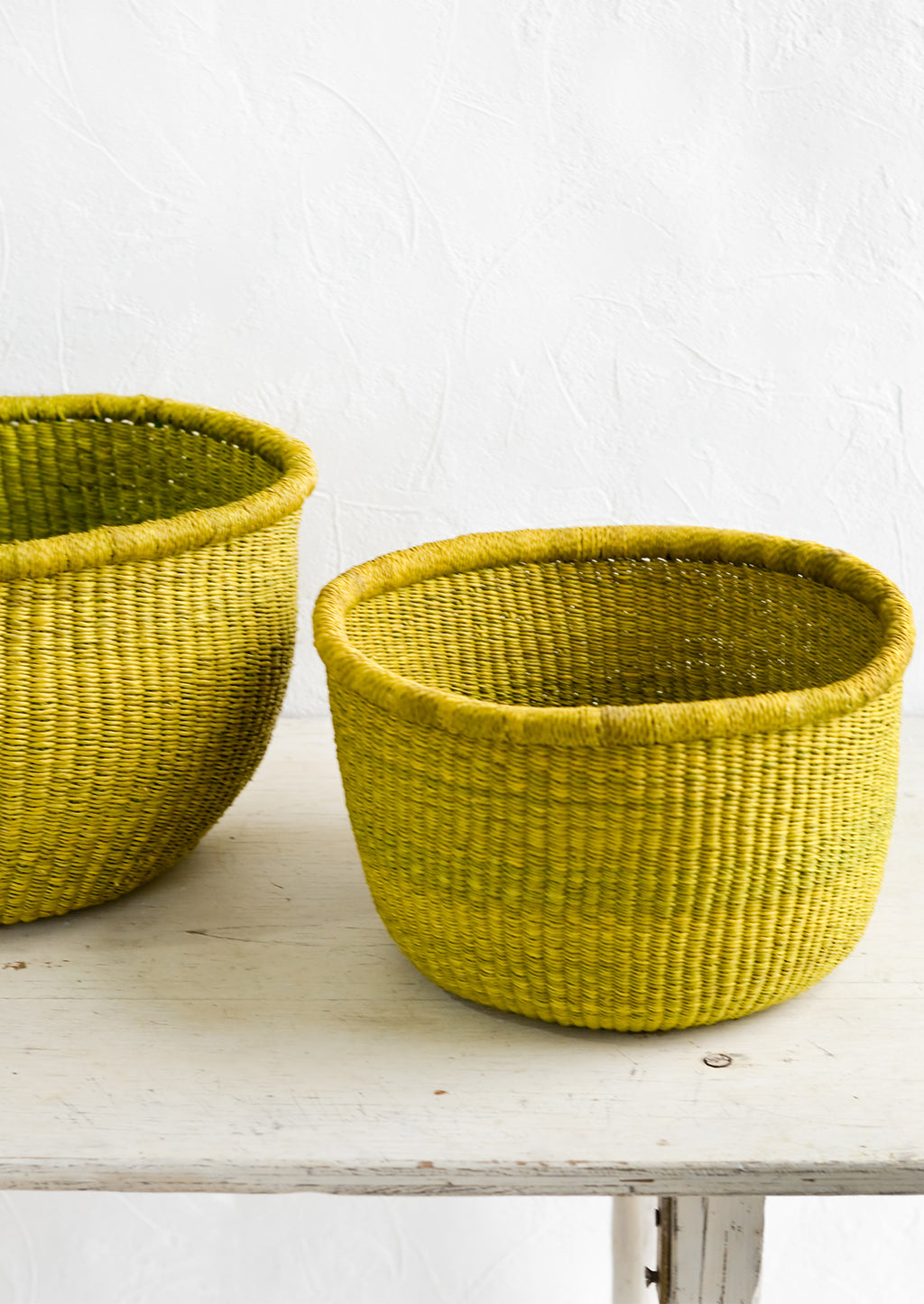Large: Citron Storage Basket