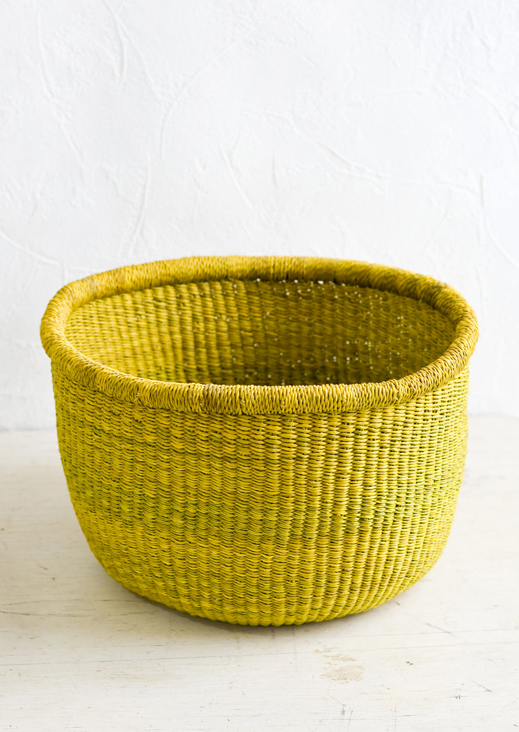 Small: Citron Storage Basket