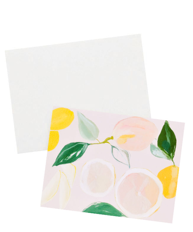 2: Citrus Grove Blank Card in  - LEIF