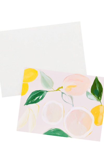 Citrus Grove Blank Card hover