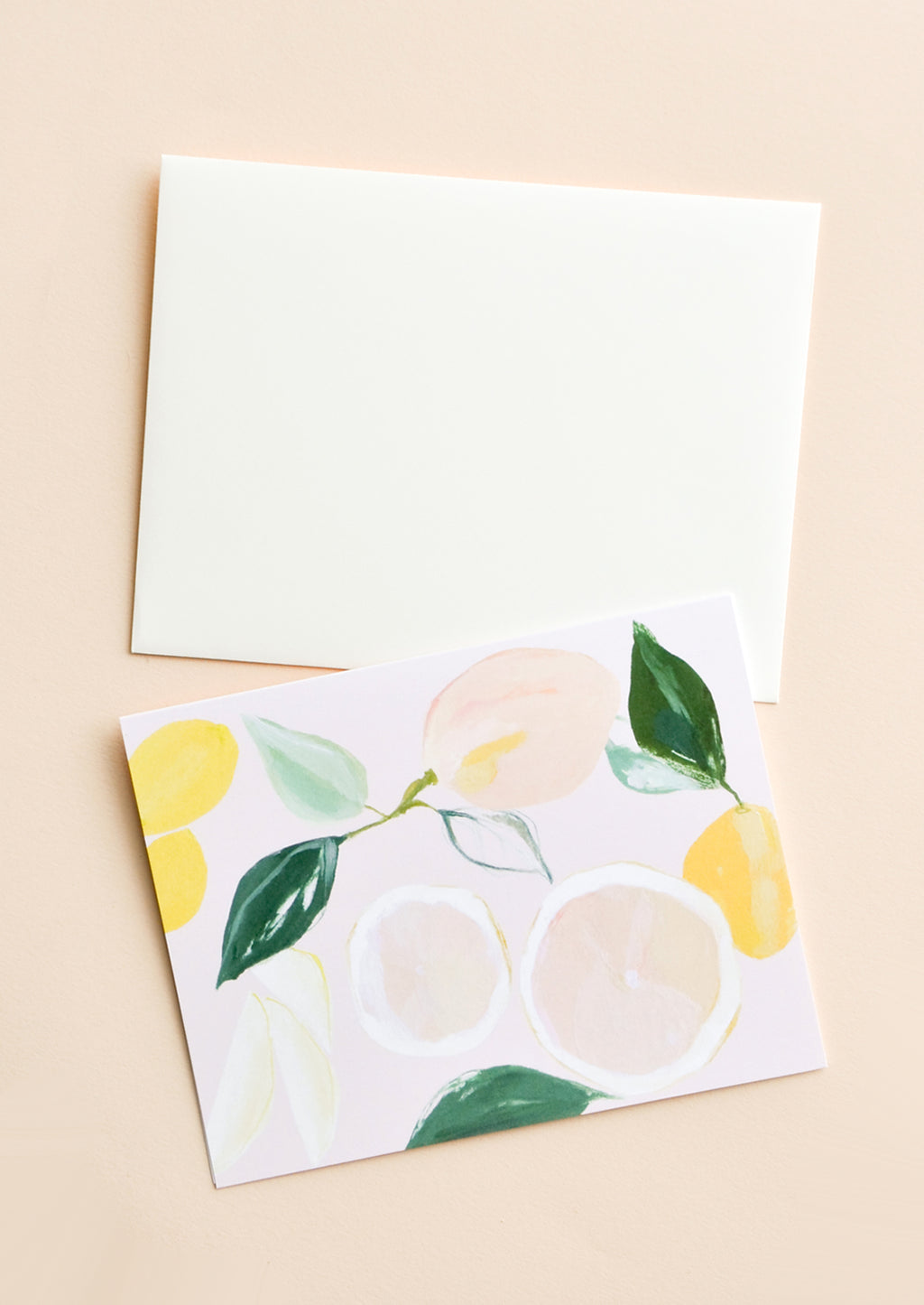 1: Citrus Grove Blank Card in  - LEIF
