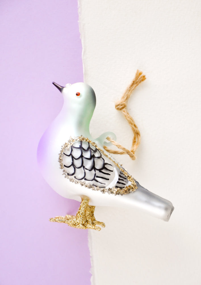 City Pigeon Ornament