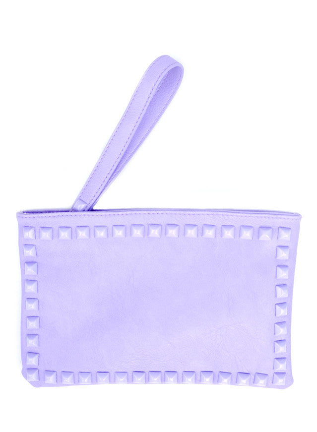 Coated Pyramid Stud Clutch - LEIF