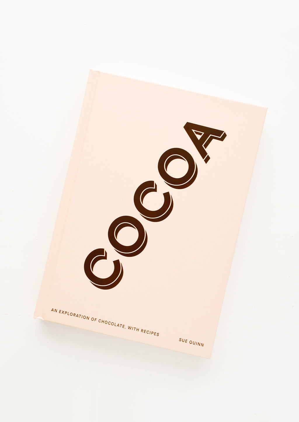 "1: Cookbook featuring large text that says ""COCOA""."