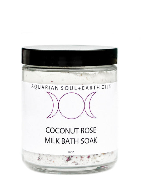 Coconut Rose Milk Bath - LEIF