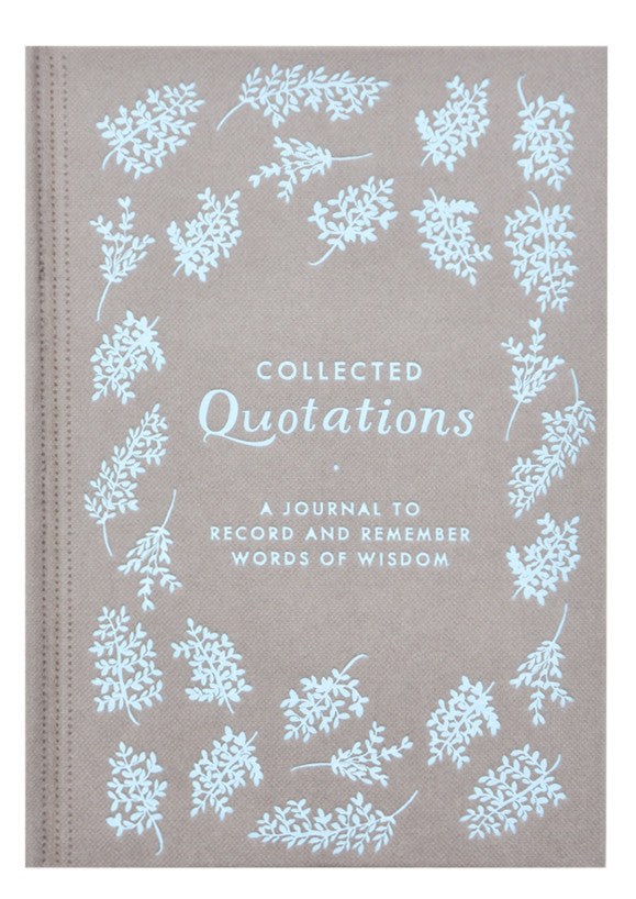 Collected Quotations Journal - LEIF