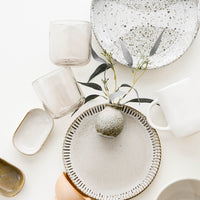 1: Stylized Image of Rustic Ceramics & Glassware - LEIF