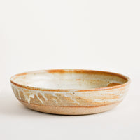 Matte Rusty Tan: Rustic Ceramic Dinner Bowl in Matte Rusty Tan - LEIF