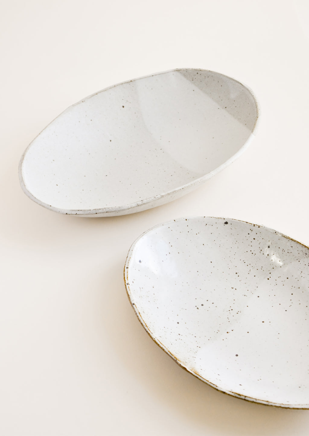 1: Rustic Ceramic Platter in  - LEIF