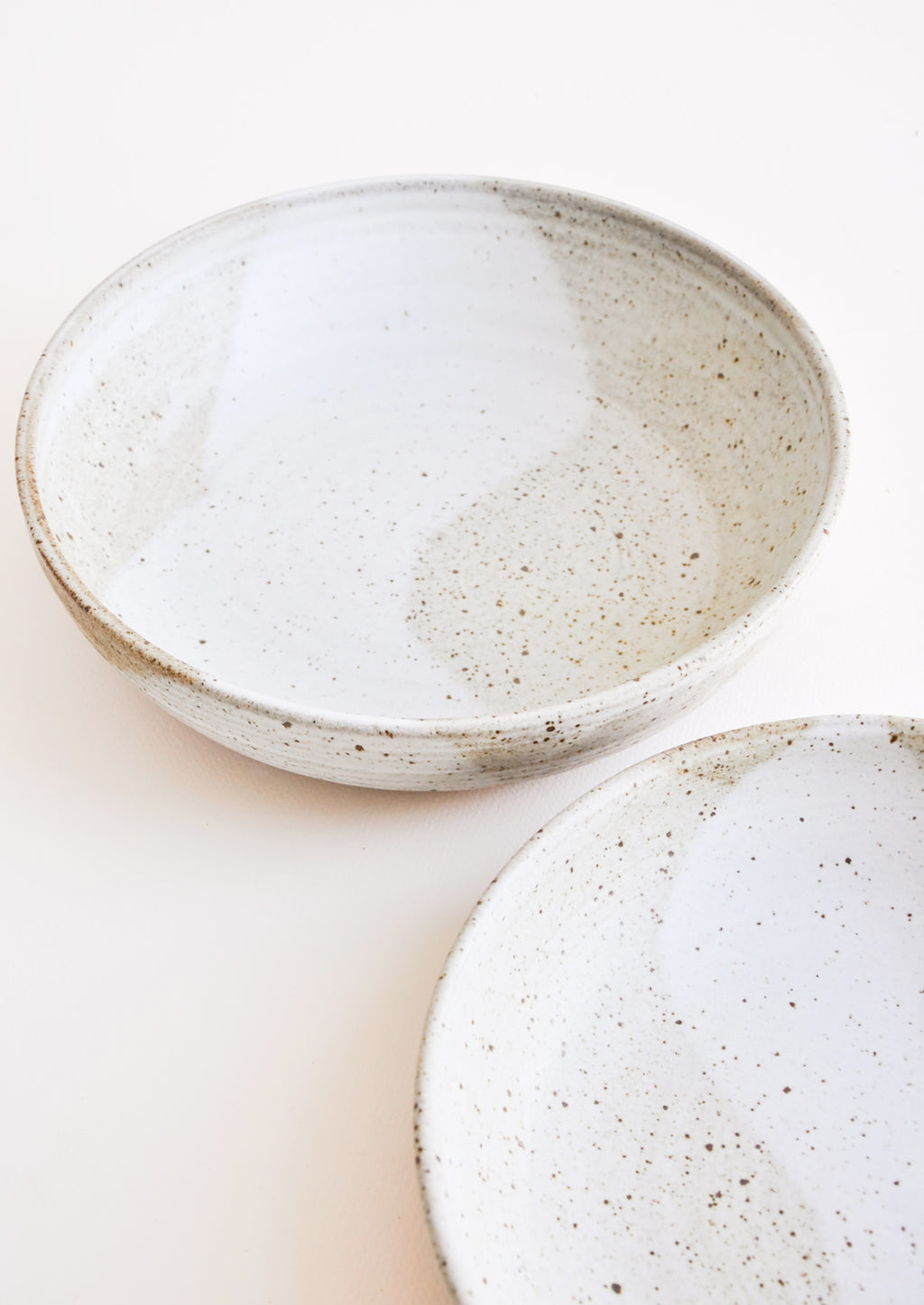 Rustic Ceramic Serving Bowl