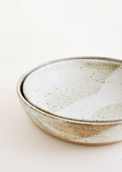 Rustic Ceramic Serving Bowl hover