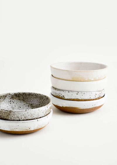 Rustic Ceramic Yogurt Bowl