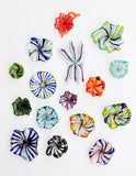 Color Burst Glass Magnet - LEIF