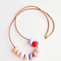The Color Curator Necklace in Desert Rose - LEIF