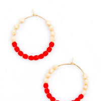 Color Dip Mini Hoop Earrings - LEIF