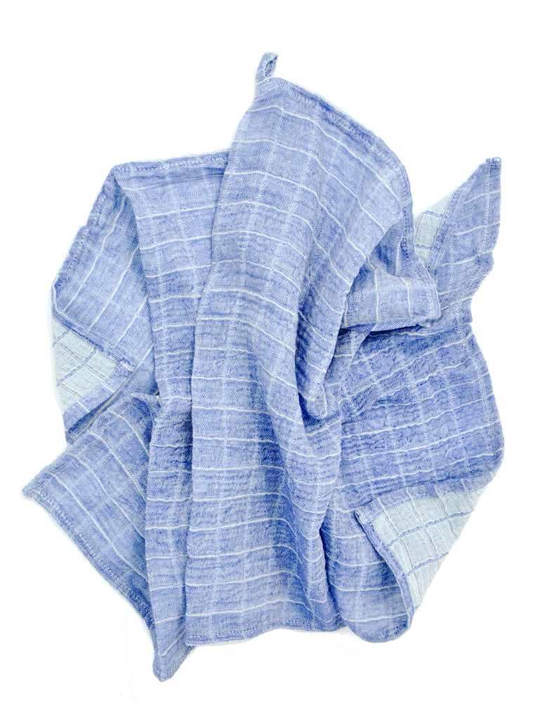 Cornflower: Color Duo Hand Towel in Cornflower - LEIF