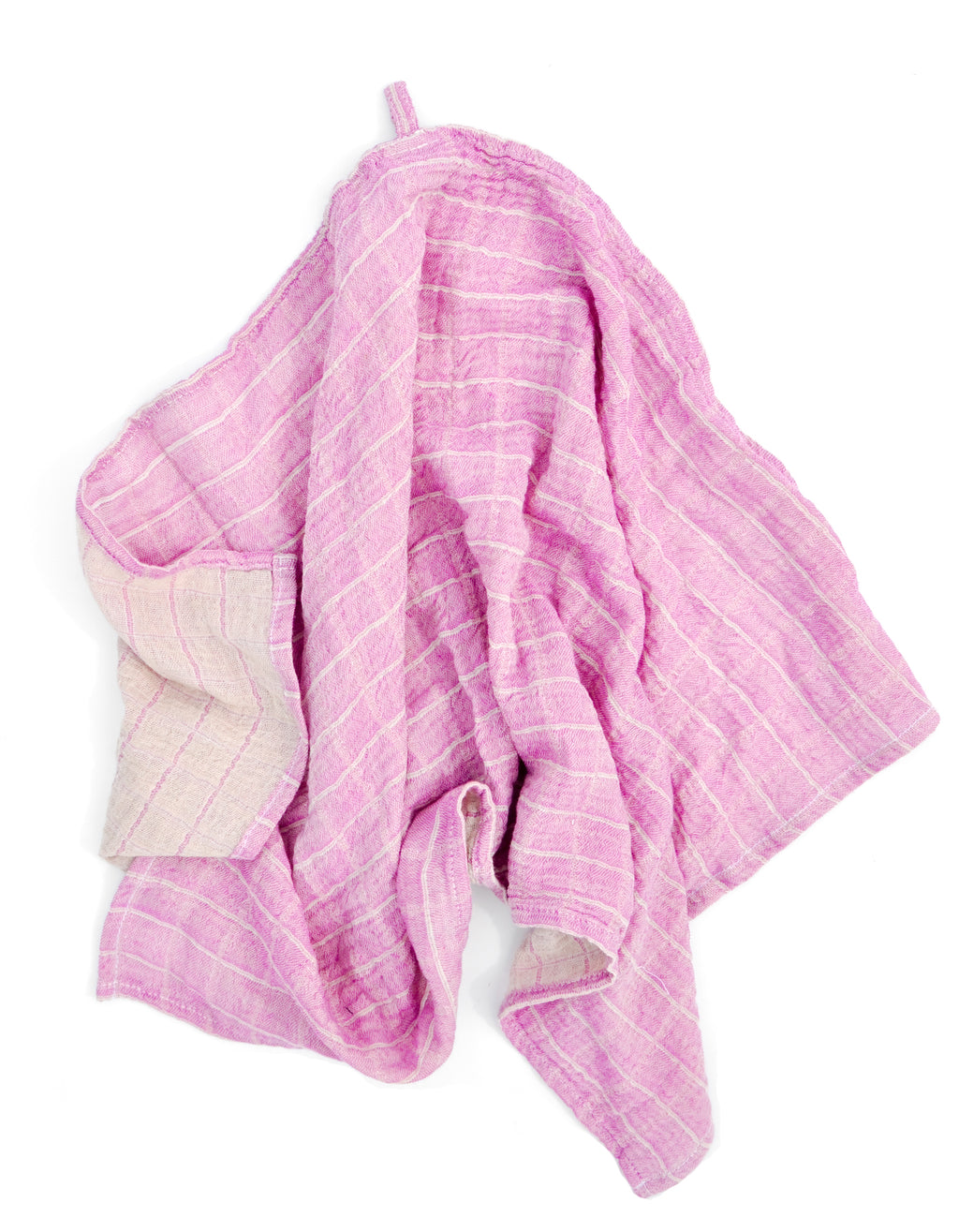 Orchid: Color Duo Hand Towel in Orchid - LEIF