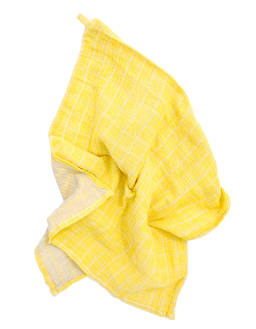 Yolk: Color Duo Hand Towel in Yolk - LEIF