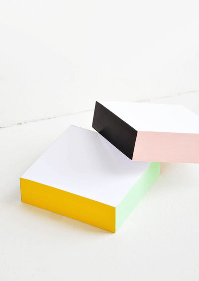 Painted Edge Memo Pad