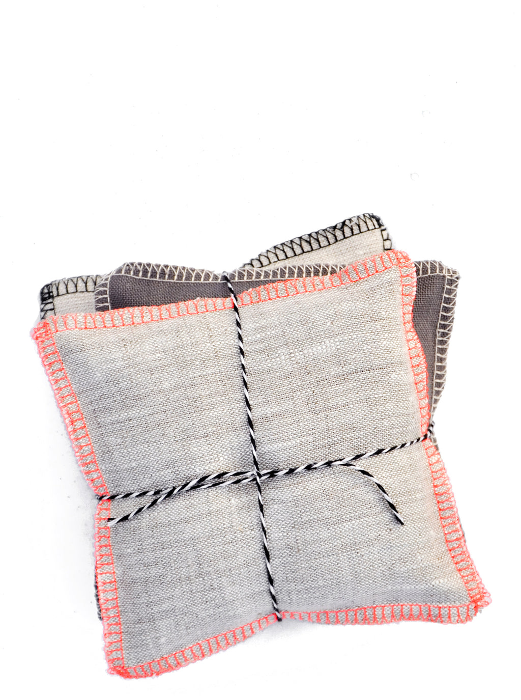 Neon Neutral / Balsam: Color Stack Sachet Set in Neon Neutral / Balsam - LEIF