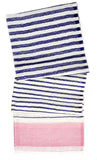 Color Stripe Wool Scarf - LEIF