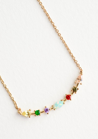 Color Wave Necklace in  - LEIF