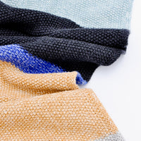 Colorblock Knit Blanket - LEIF