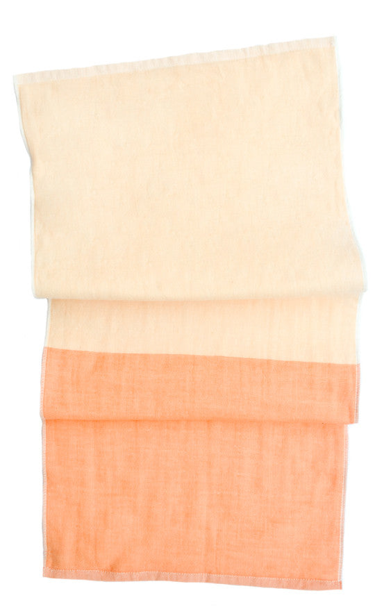 Colorblock Chambray Hand Towel - LEIF