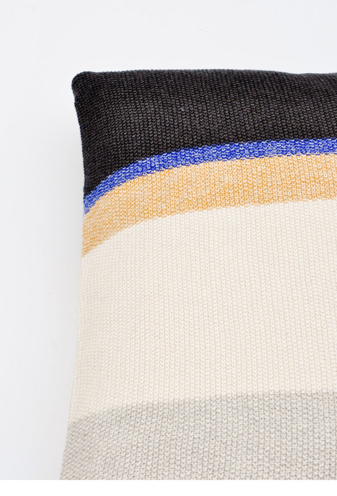 Colorblock Knit Pillow - LEIF