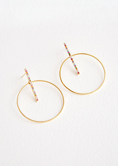 Colored Lights Earrings