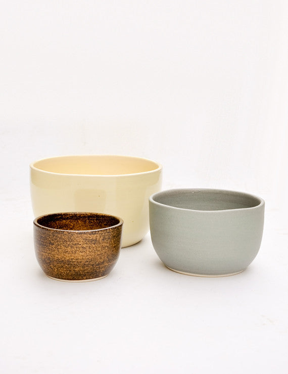 Color Contrast Nesting Bowl Set