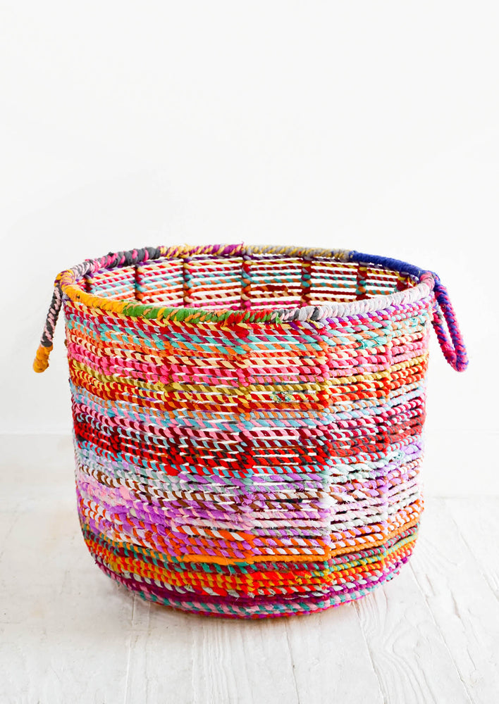 Colorweave Round Bin in  - LEIF