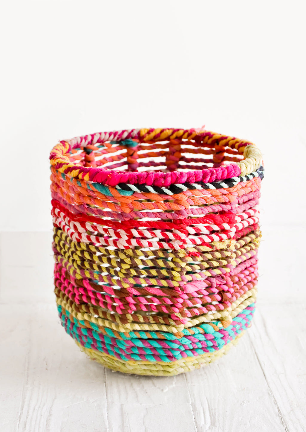 Colorweave Round Bin in Extra Small - LEIF