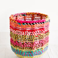 Extra Small: Colorweave Round Bin